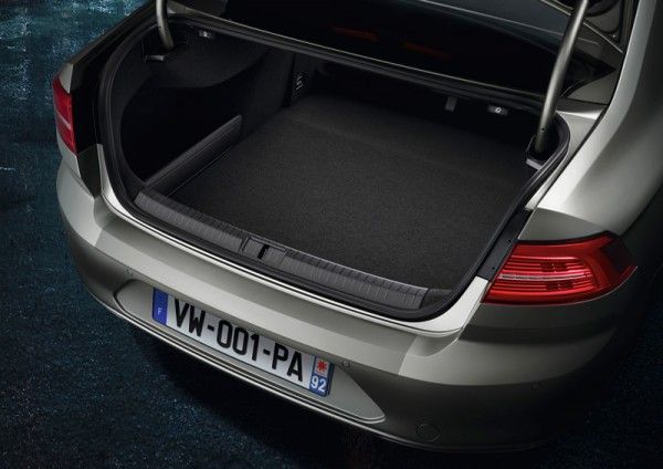 Ladekantenschutz Passat Variant B8 3G Original VW transparent Schutzfolie