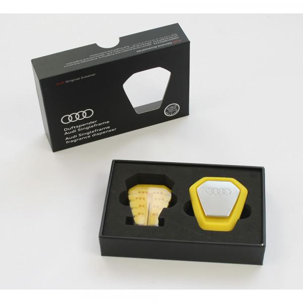 Original Audi Duftspender Audi Singleframe gelb belebend Duftstick