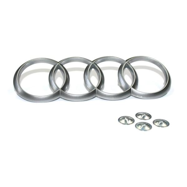Audi Motorabdeckung 4H0103940B Original Schriftzug Emblem Logo inkl. Befestigung