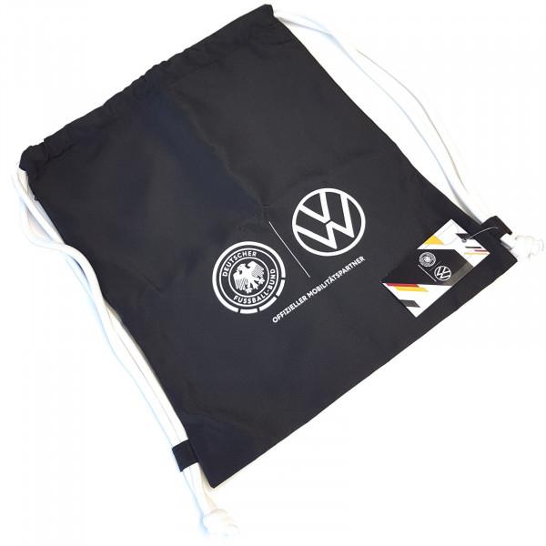 Original VW Sportbeutel Tasche Beutel Einkaufstasche Fußball DFB Fanartikel Sportasche Gym Bag