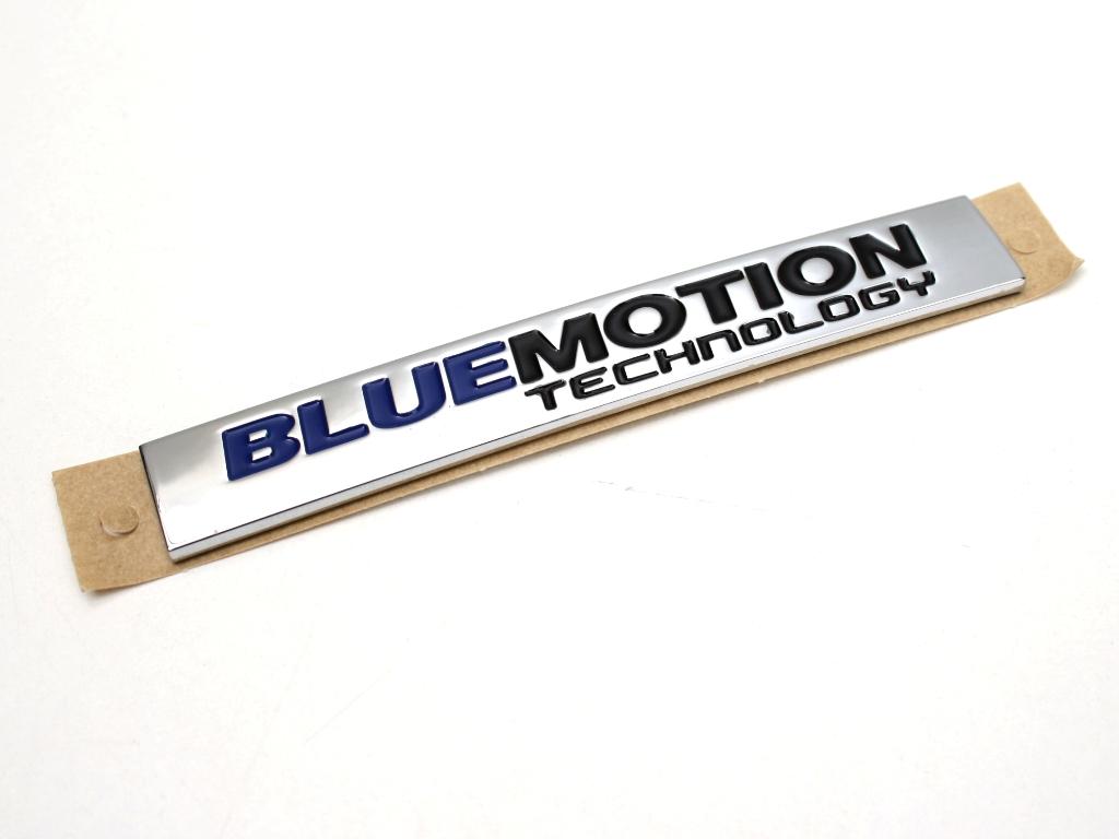 blue motion technology schriftzug aufkleber zb passat. Black Bedroom Furniture Sets. Home Design Ideas