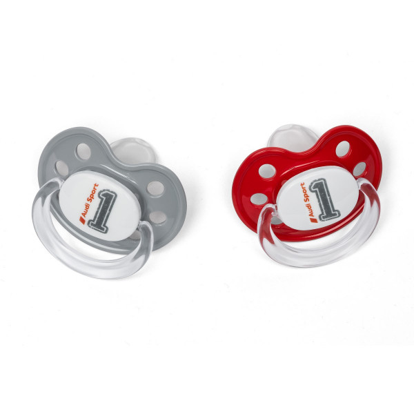 Original Audi Sport Baby Schnuller Sauger BPA-frei Silikonsauger 3201901600