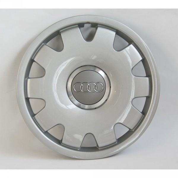Original Audi Radzierkappe 15 Zoll Radkappe avussilber Radzierblende Kappe