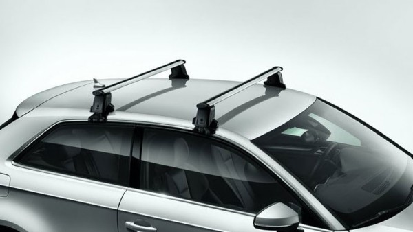 Grundträger-Satz Original Audi (8V) A3 / S3 / RS3 Träger Silber Zubehör Sportback