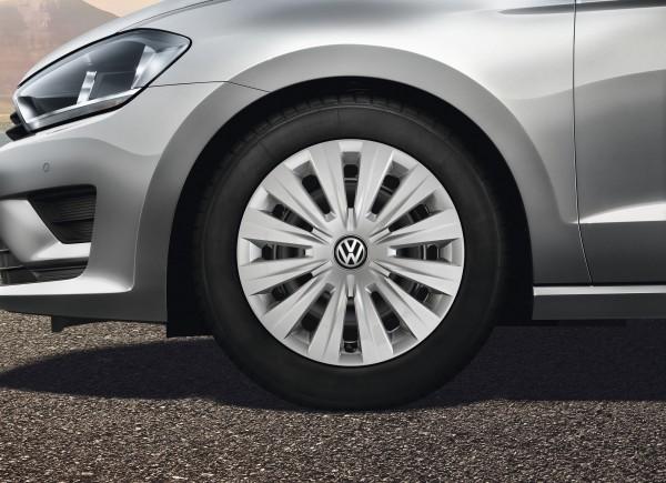 VW Radkappen Golf 7 / Golf Sportsvan 15 Zoll Radzierblende Original Volkswagen Zubehör