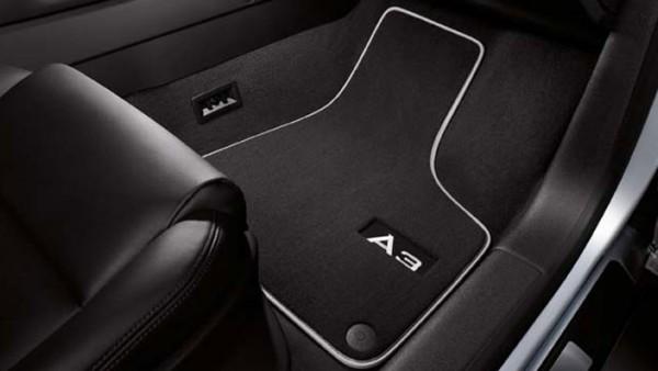 PREMIUM Audi A3 8P Original Velours Fußmatten 4-teilig Textil Stoffmatten Teppich