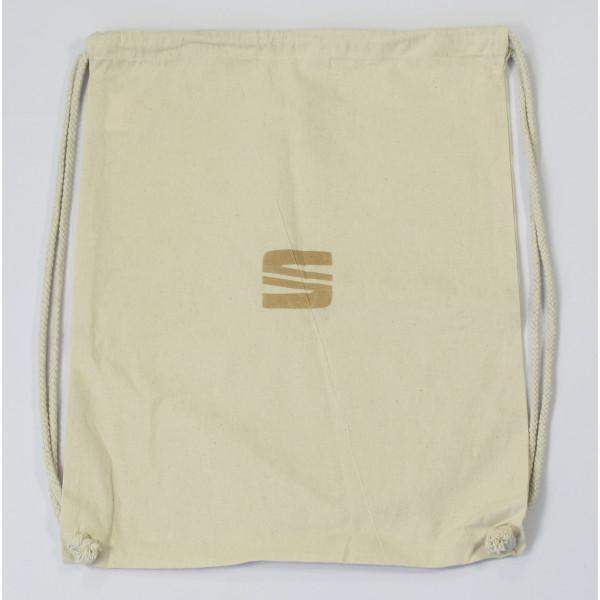 Original Seat Rucksack Tragetasche Beutel Zuziehsack Einkaufsbeutel beige 6H1087317KBI