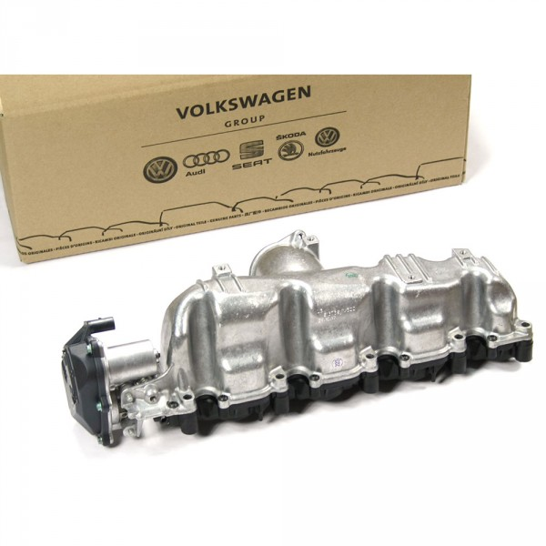 Original VW Audi Saugstutzen Saugrohr Luftzufuhr 2.0 TDI Diesel Motor 03L129711E