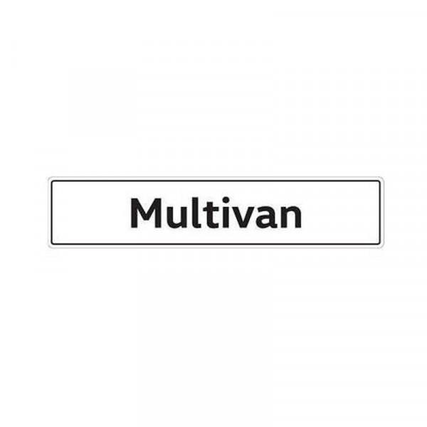 Original VW Kennzeichenschild Multivan Nummernschild Kennzeichen Typenschild 7E5071801A