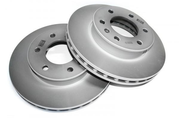 Bremsscheiben Set VW Crafter Vorderachse Original Volkswagen 2E0615301 Scheibenbremse
