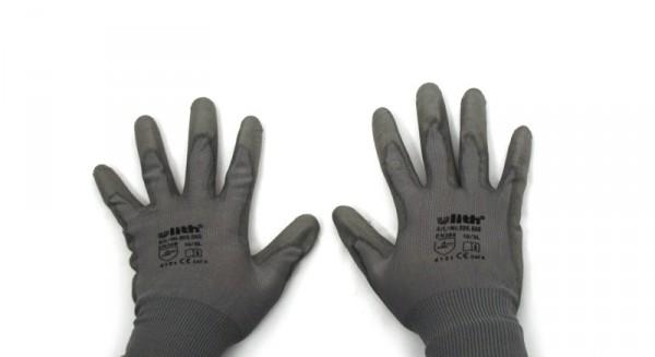 Montage Handschuhe aus Strick PU-Beschichtung Schutz universal