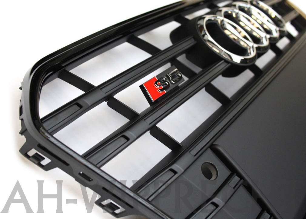 s5 k hlergrill audi a5 facelift schwarz original tuning. Black Bedroom Furniture Sets. Home Design Ideas