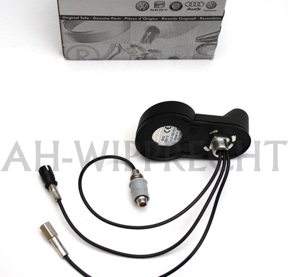 original vw skoda antennenfu gps telefon radio. Black Bedroom Furniture Sets. Home Design Ideas