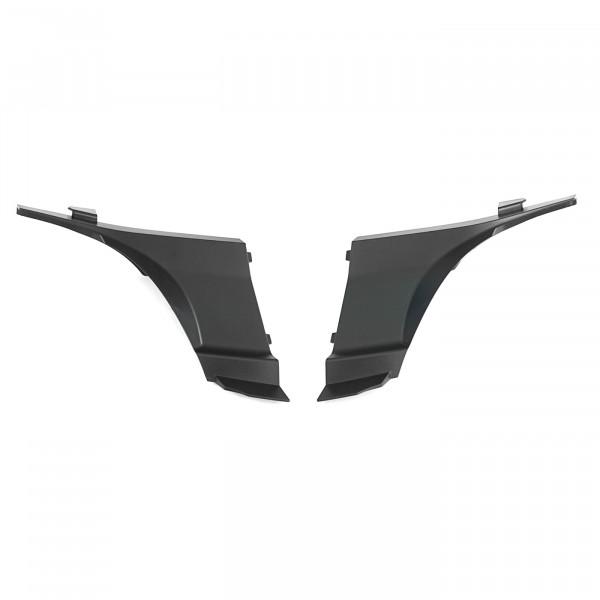 Original Audi TT (8J) Abdeckung Scheinwerfer Stoßfänger Blende links rechts schwarz