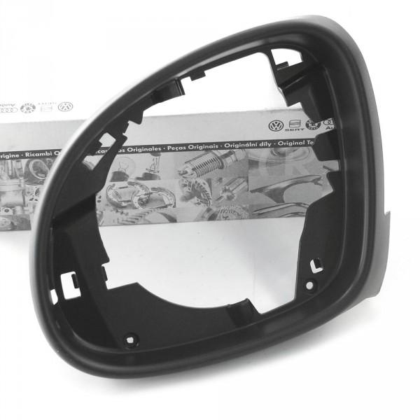 Original VW Seat Blende links innen Spiegelrahmen Außenspiegel satinschwarz