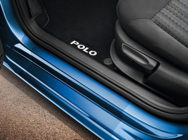 Original VW Einstiegsleisten Schutzfolie Polo 6R/6C Einstiege 4-Türer transparent