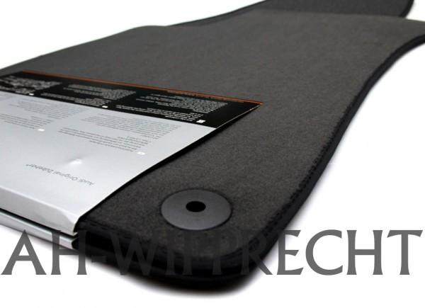 Original Audi Fußmatten Premium Velours A6 (C5/4B) schwarz Textilfußmatten