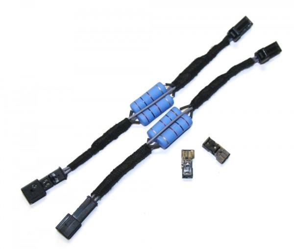 Adapter für LED Kennzeichenleuchte 3AF943021A Heck LED Leuchten-Kabeladapter