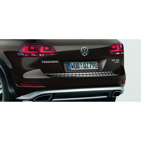 VW Touareg 7P Schutzleiste Heckklappe Original Heckleiste Kantenschutz Chrom