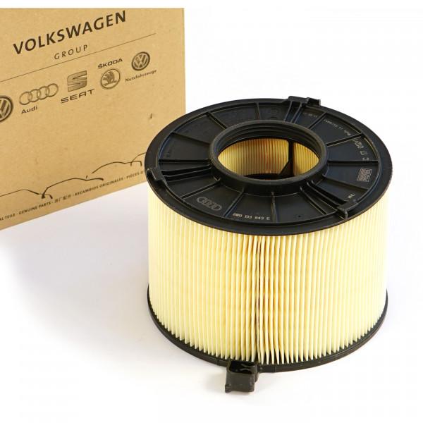 Original Audi Luftfilter Filter Luftfiltereinsatz TFSI Service Inspektion 8W0133843E