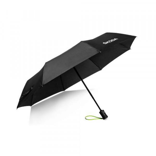 Original Skoda Taschenschirm Regenschirm Umbrella Schirm schwarz 000087602N