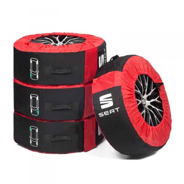 Original Seat Reifentasche Kompletträder (bis 18 Zoll) Schutztasche Reifen Räder Lagerung
