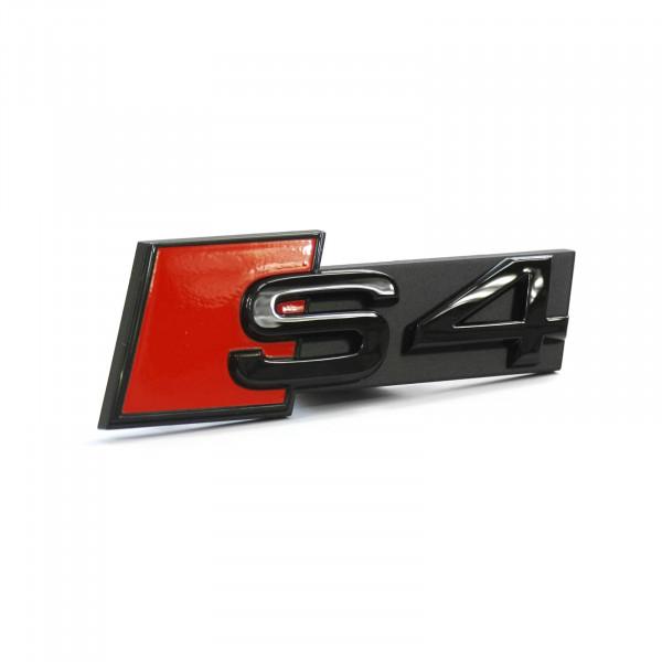 Original Audi S4 Schriftzug Clip schwarz Tuning Kühlergrill Black Edition Emblem 8W0071805
