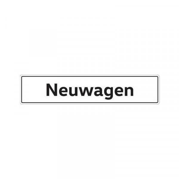 Original VW Kennzeichenschild Neuwagen Nummernschild Kennzeichen Typenschild 000071801AR