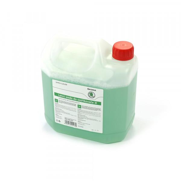 Original Skoda Sommer Fertigmix Scheibenreinigungsmittel 3 Liter Kanister