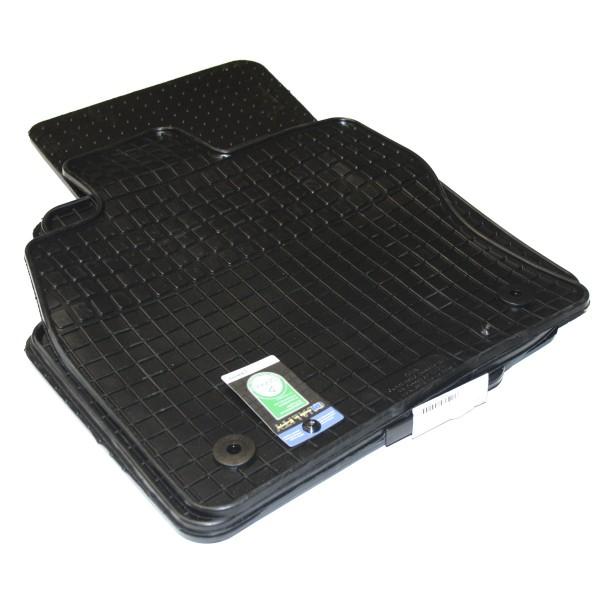 Gummifußmatten 4-teilig, schwarz, Komplettsatz, VW Passat B8 (3G)