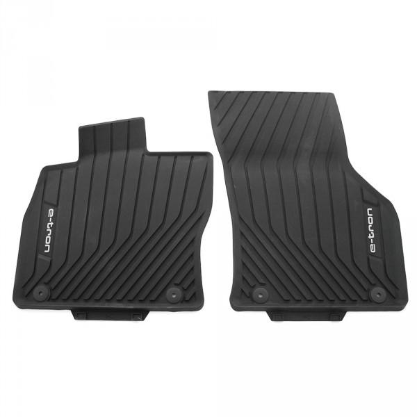 Original Audi A3 (8V) e-tron Allwetterfußmatten vorn Gummi Fußmatten schwarz