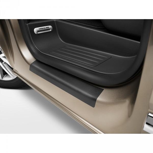 Original VW T5 T6 Schutzfolie Einstiegsleiste schwarz Tür Schutz Folie