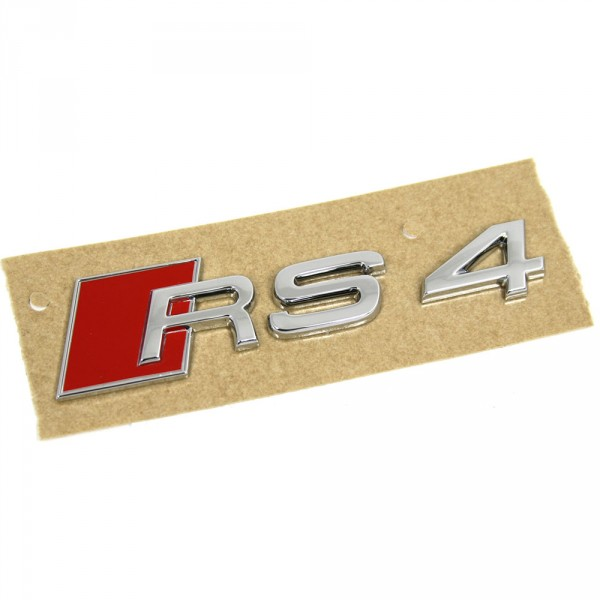 Original Audi RS4 (8E) Schriftzug seitlich Tuning Emblem Zeichen Logo 8E0853601