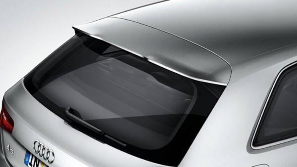 Dachkantenspoiler Original Audi A3 (8V) grundiert Tuning Spoiler