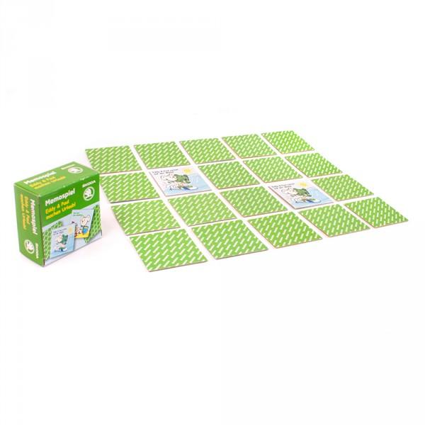 Original Skoda Memo Kartenspiel Eddy & Paul Gesellschaftsspiel Memory Spiel