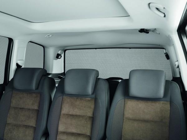 Sonnenschutz Kofferraumscheiben Heckscheibe Original VW Touran 3-teilig