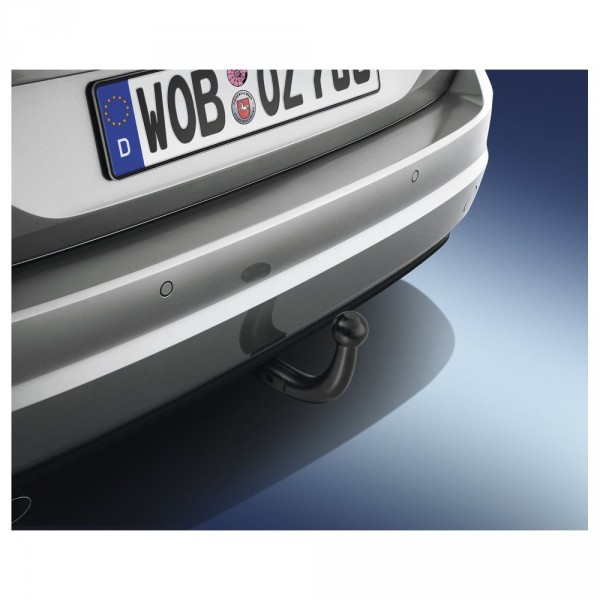 Original VW Golf Sportsvan Anhängevorrichtung Satz starr 13-polig AHV