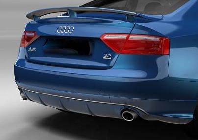 Audi A5 S5 Heckschürze, Heckspoiler Original Zubehör (auch A5 Cabrio)