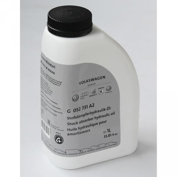 Original Audi RS Stoßdämpfer Hydraulik Öl Servoöl 1 Liter Flasche Sportfahrwerk