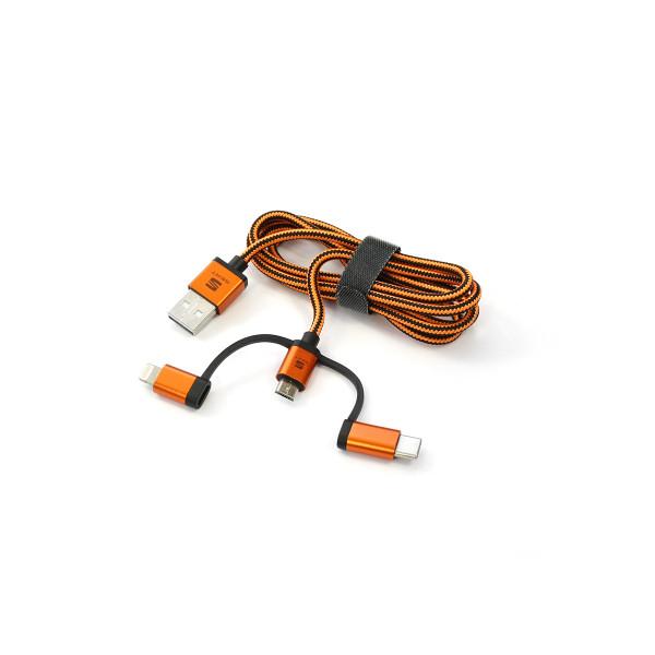 Original Seat 3-in-1 Kabel Ladekabel USB Datenübertragung Stecker Accessoires Infotainment