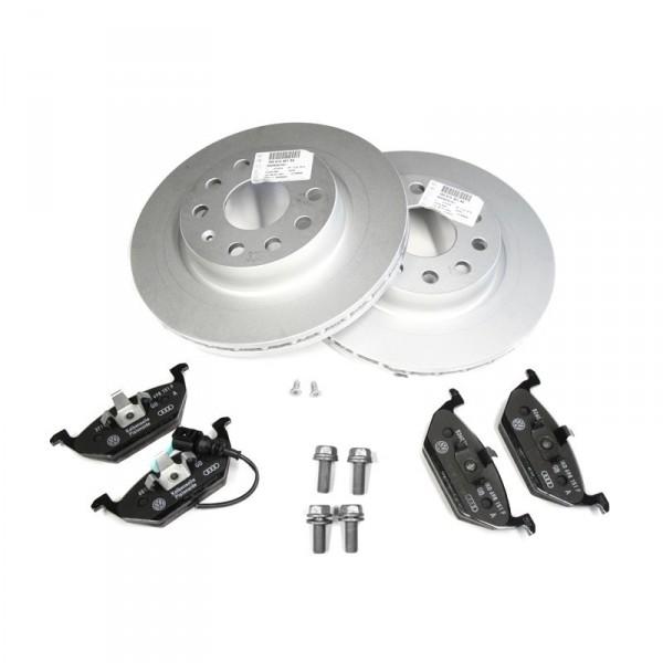 Beläge vorne 5Q0615301F ORIGINAL Audi VW Bremsen Kit Bremsscheiben