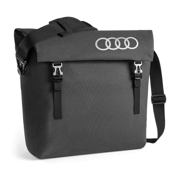 Original Audi Sport Tragetasche Messenger Bag Tasche dunkelgrau 3152000300