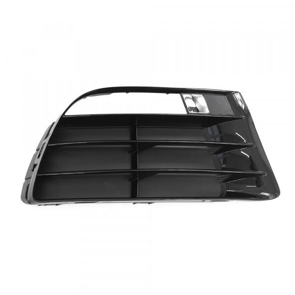 Original VW Scirocco R Lüftungsgitter vorn rechts Gitter schwarz glänzend
