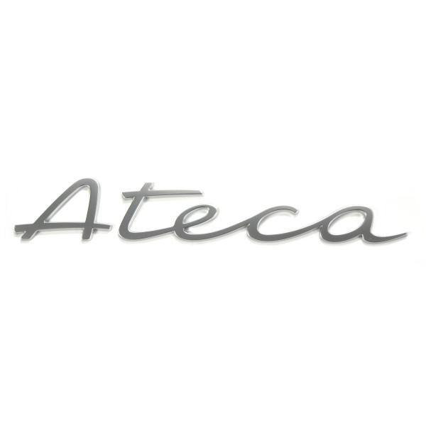 Original Seat Ateca Schriftzug hinten Heckklappe Emblem Logo alu standard