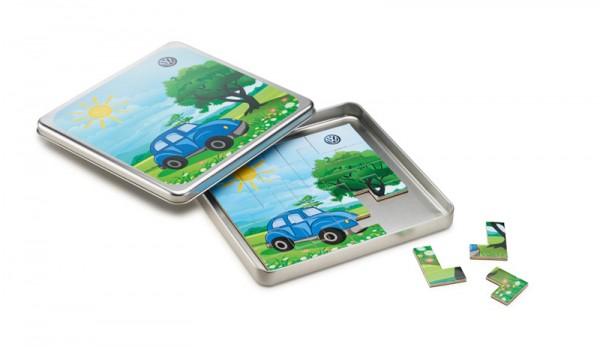 Spielzeug Original Volkswagen Magnetspiel für Kinder Puzzle Spiel
