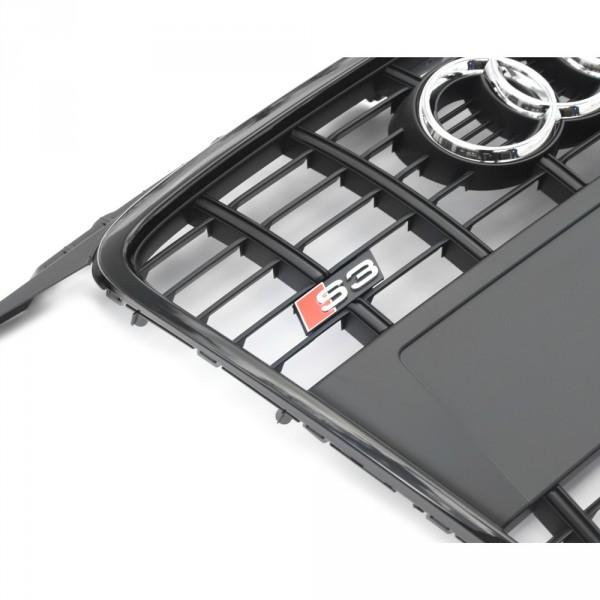 Audi S3 8P Kühlergrill Original Tuning Sport Exterieur Frontgrill Grill schwarz