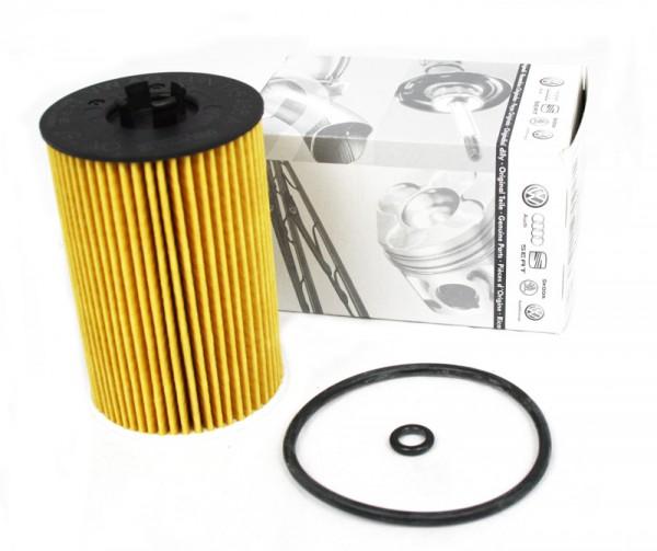 Ölfilter Filtereinsatz Original VW Audi 1.6/2.0 TDI Motorölfilter Diesel Filter 03N115562B