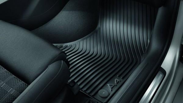Original Audi A4 (B8 8K) Gummi Fußmatten 2-teilig vorn Gummimatten Allwettermatten