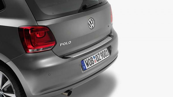 Ladekanten Schutz Original VW Polo BlueMotion BlueGT Edelstahl Optik Schutz 6R0061195