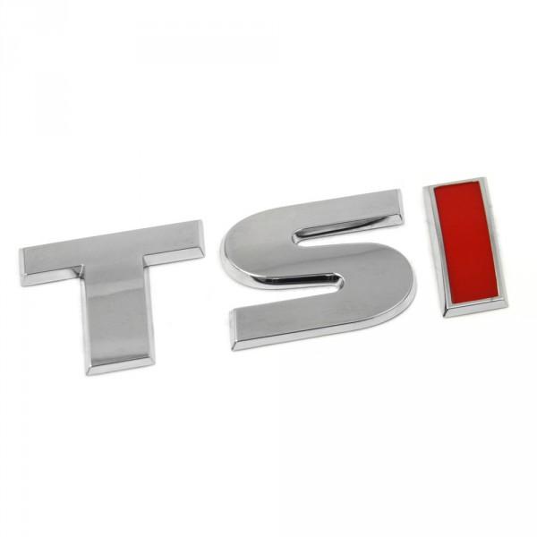 Original VW Amarok TSI Schriftzug hinten Ladebodenklappe Logo chrom rot
